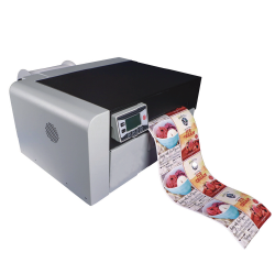 JM210C卷装彩色标签数码印刷机