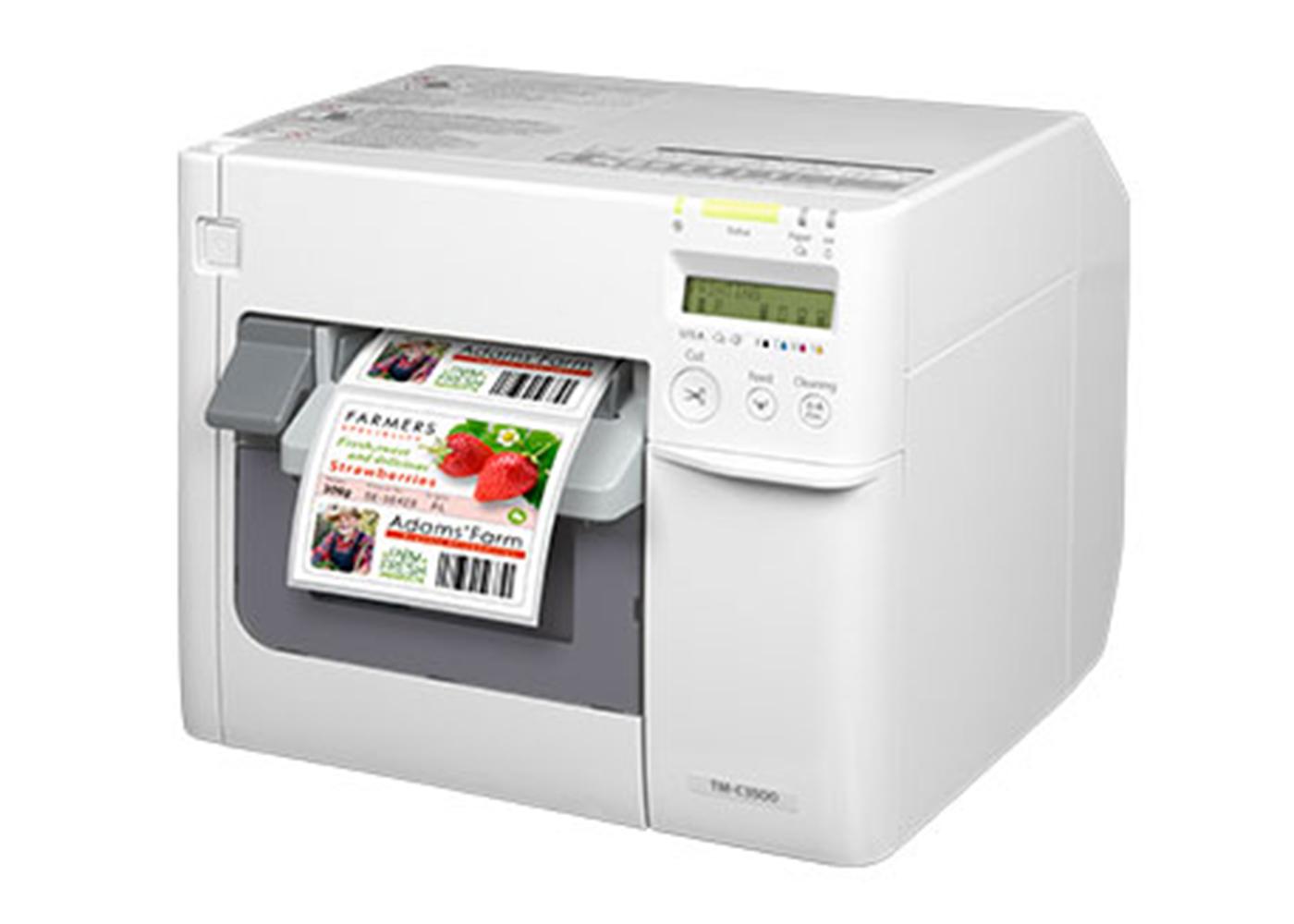 JE35 彩色标签打印机
