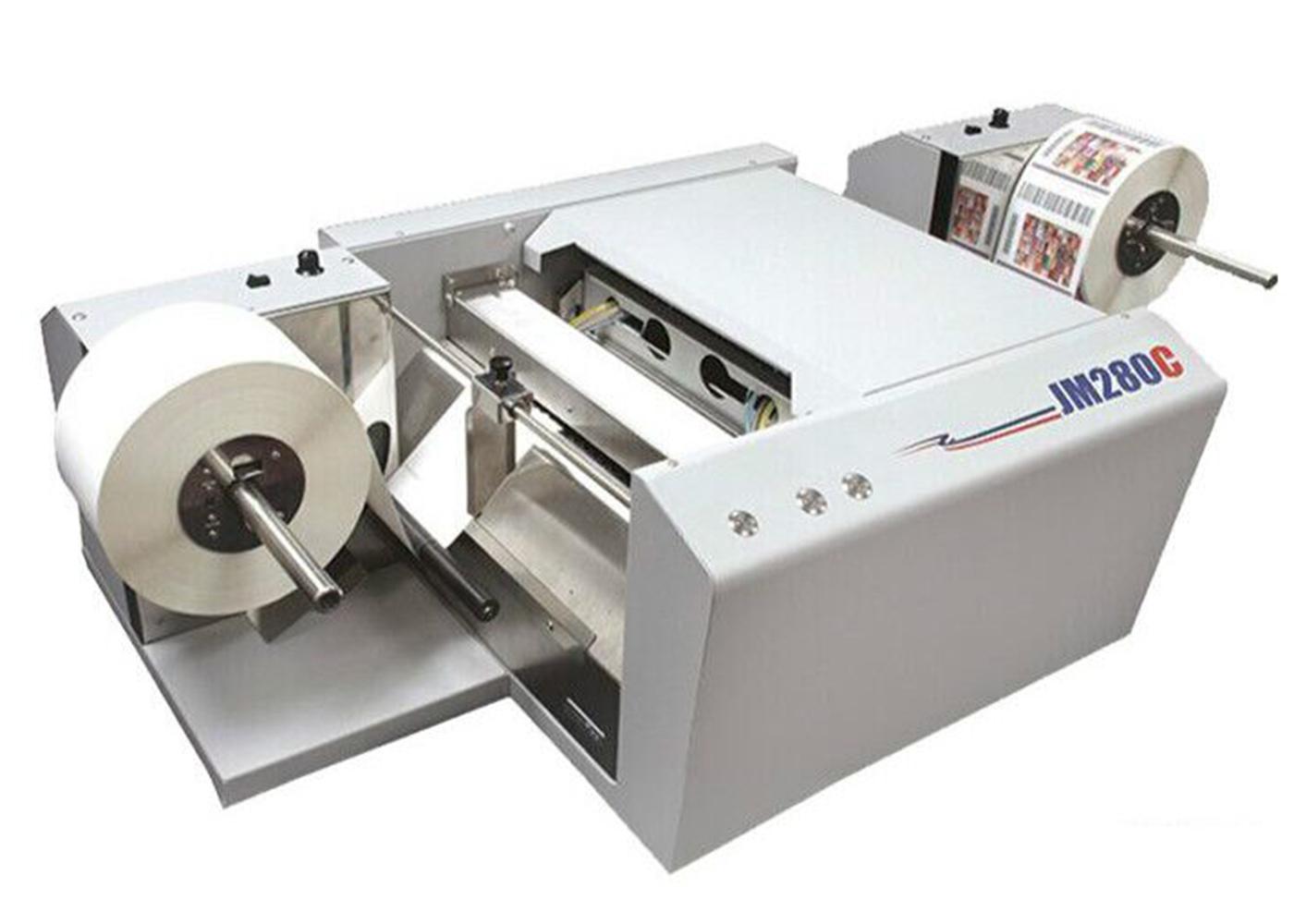 泰力格卷对卷彩色标签打印机JM280C+